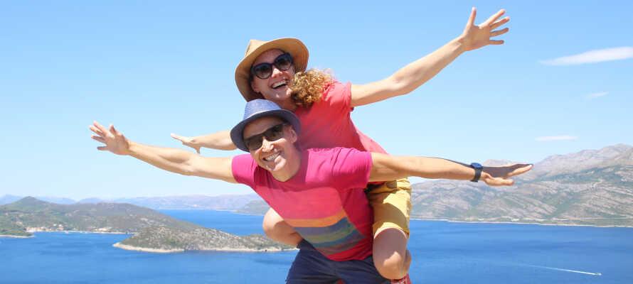 Tag på alletiders ferie i Kroatien og nyd et ophold med masser af afslapning, natur og historie ved Adriaterhavet.