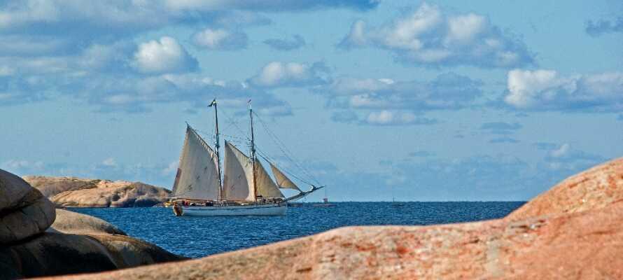 Få landskap är så vackra som Sveriges västkust och från hotellet har ni ett perfekt läge för att utforska området!