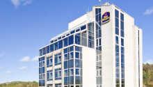 Best Western Hotel Carlia har en central placering i den svenske by Uddevalla