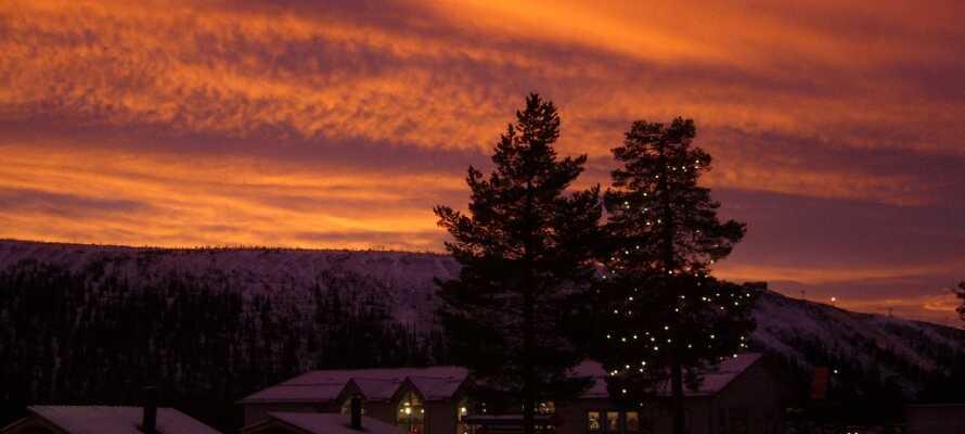 Opplev alt som hyggelige Sälen har å by på med skiløp, underholdning, vandreturer i naturskjønne omgivelser.