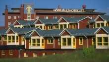 Buchen Sie bei Olsen Reisen und Sie haben Urlaub im Sälens Högfjällshotell zum kleinen Preis.