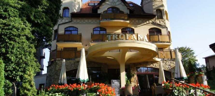 Velkommen til Hotel Trofana Wellness and Spa. Her finder du en bred vifte af afslappende spa-behandlinger.