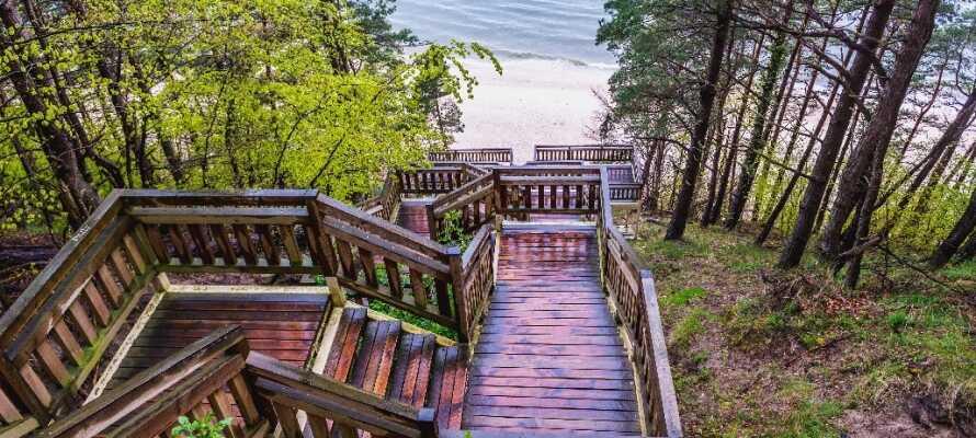 Der findes flere forskellige vandreruter i området omkring hotellet. Nyd udsigten fra bjergene Gosán eller Kawcza.