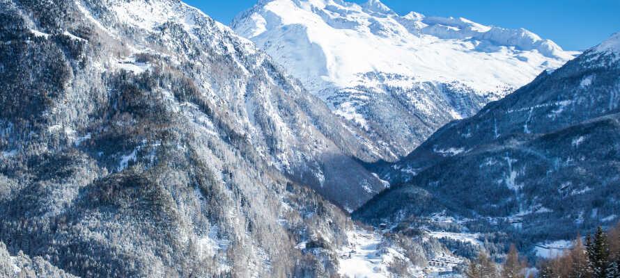Upptäck det vackra vinterlandskapet i Ötztal-dalen