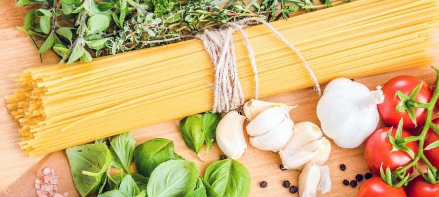 I Toscana er der rig mulighed for at komme helt tæt på det italienske køkken!