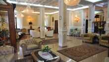 Et fint og lyst rom på Hotel Savona