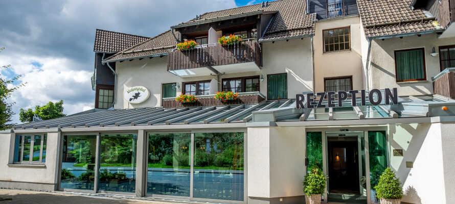 Skøn afslapning og fantastiske vandreture i Harzen, venter jer på det familiedrevne Hotel Walpurgishof.