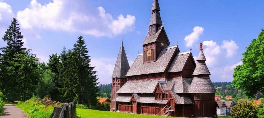 Besøg den imponerende stavkirke eller udforsk 'ErlebnisBocksBerg' i Hahnenklee.