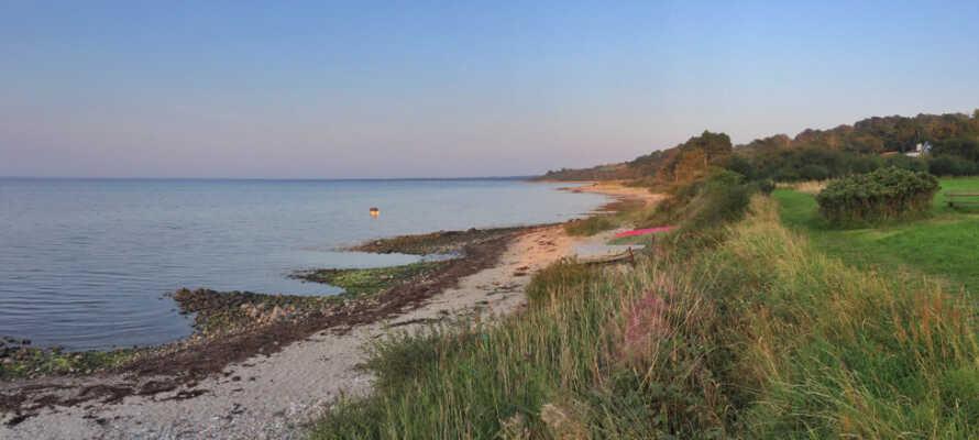 Odsherred ligger med hav og vand på tre sider. Oplev den smukke natur med bakkede landskaber og skønne udsigtsposter.