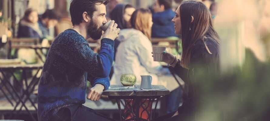 In Kolobrzeg gibt es viele gemütliche Cafés und Restaurants, perfekt  um einen kurzen Boxenstop, zwischen dem Sightseeing und dem Shoppen, einzulegen