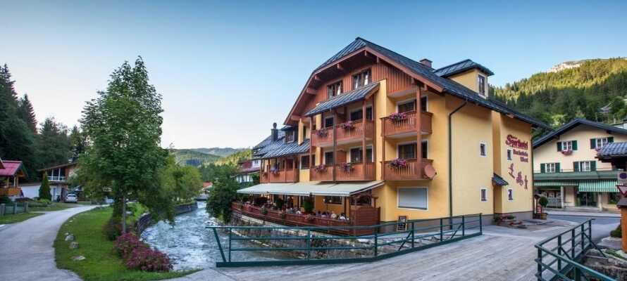 Velkommen til Sporthotel Dachstein West, som ligger midt i byen Annaberg.