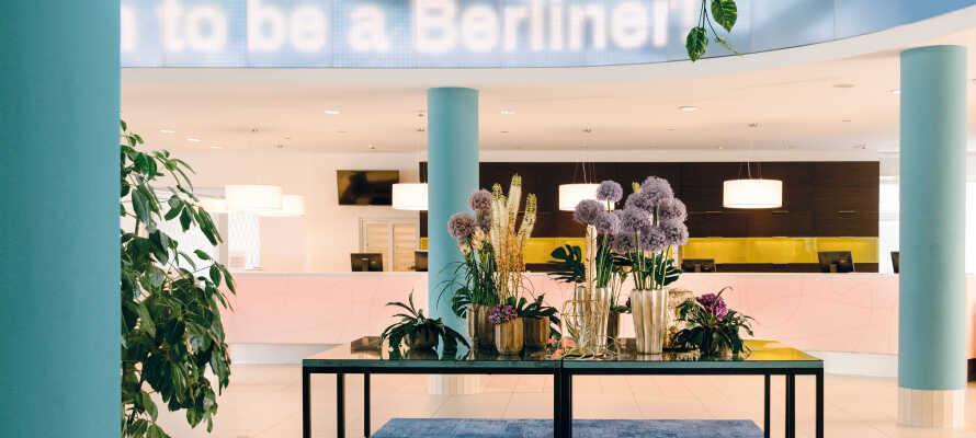 Et rigtigt berlinerhotel med gratis parkering.