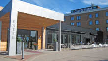 Hotellet har ett perfekt läge vid Vänerns sydligaste vik
