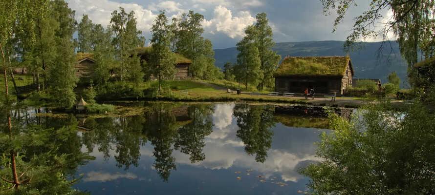 Lær mer om Norges kulturhistorie med et besøk ved  friluftsmuseet, Mailhaugen.