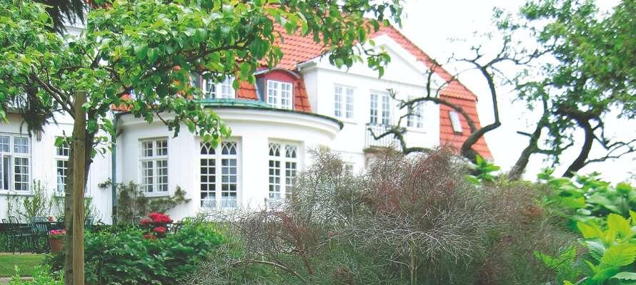 Schæffergården Hotel är fint beläget i Gentofte, norr om Köpenhamn.