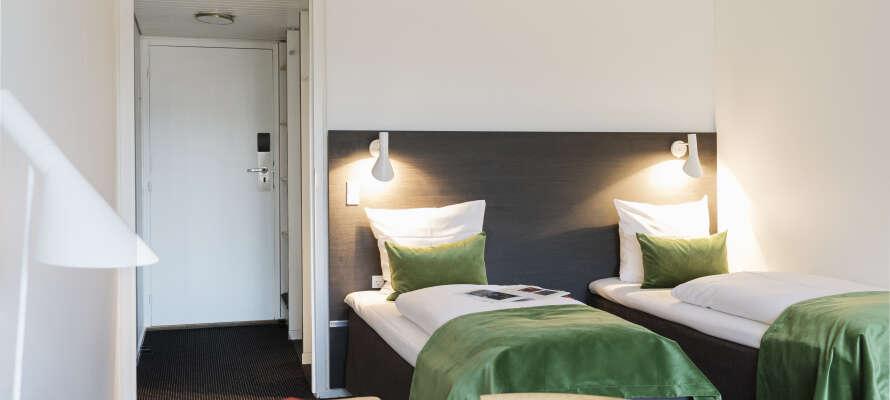 Boka ett prisvärt hotellpaket på Schæffergården Hotel med Risskov Bilsemester!