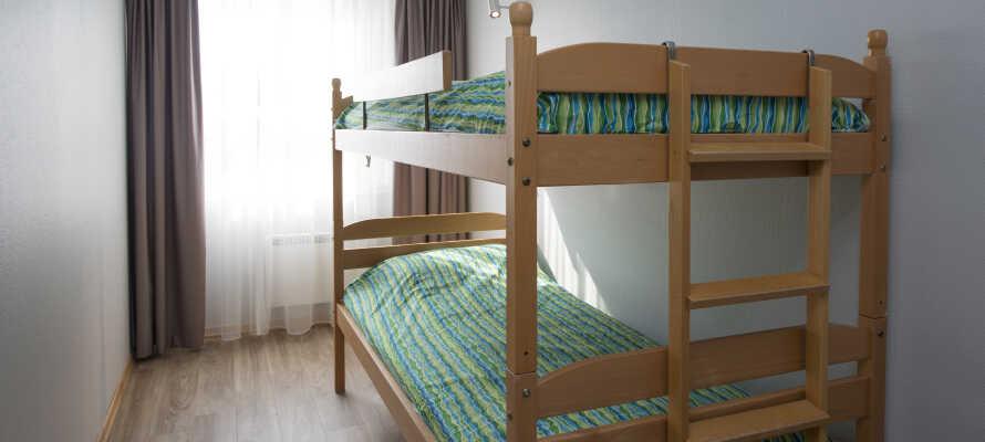 På Thon Hotel Hallingdal finns det gott om plats för familjen