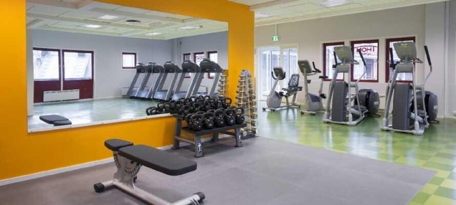 Om ni känner för ett träningspass inomhus kan ni alltid besöka hotellets gym.