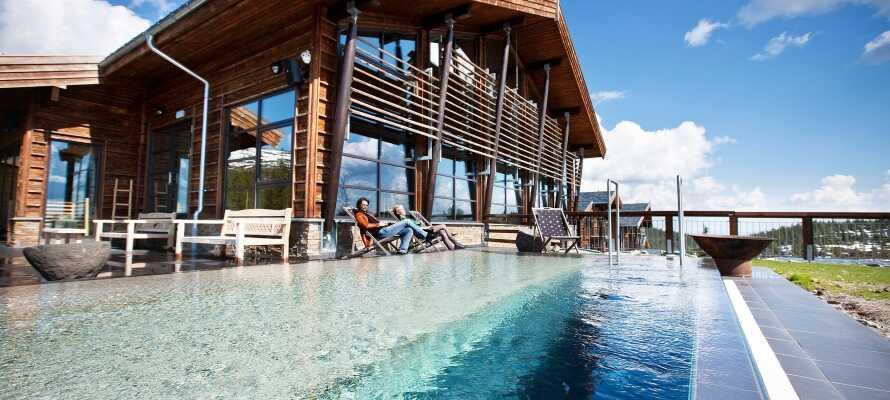 Norefjell Ski & Spa har mottagit ett flertal priser för sitt fina spa med alla tänkbara faciliteter.