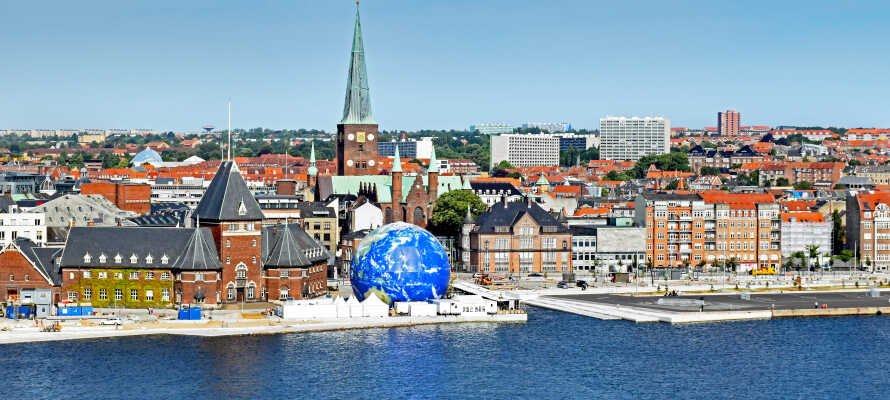 Entdecken Sie die Kulturhauptstadt Europas 2017! Aarhus ist ein Stadt mit einer vielfältigen Palette von Kunst, Kultur und Geschichte.