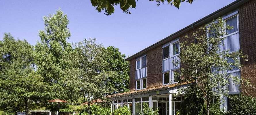 ANDERS Hotel Walsrode er nemt at finde, da det ligger i kort afstand til motorvejen, men stadig i rolige omgivelser.