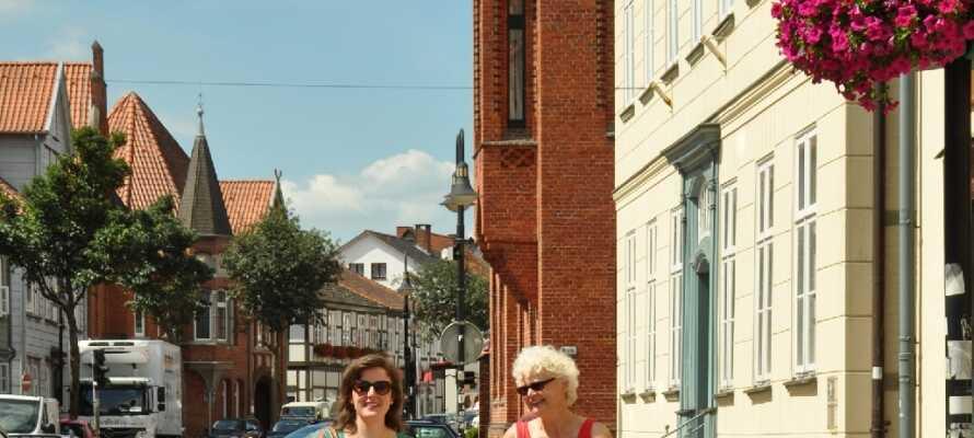 Walsrode er en lille hyggelig by, hvor I kan slentre roligt rundt i byens hyggelige gader.