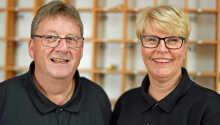 Värdparet Ellen och Thorbjørn välkomnar er till Hotel Allinge på Bornholm.