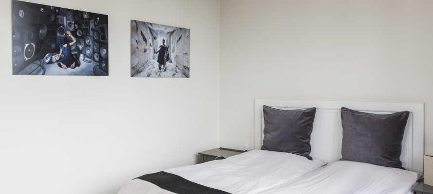 Superiorværelserne er lyse og rummelige og har alle udsigt til Øresund eller Skovshoved Havn
