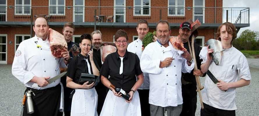 Hotel Korning Kro er familieejet. Familien og det dygtige personale sørger for, at I får et dejligt ophold.
