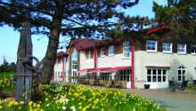 Hotel Kommandørgården ligger skønt på Rømø