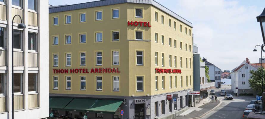 Om barnen är med på semestern får ni inte missa att besöka Vitensenteret Sørlandet som inte ligger långt från hotellet