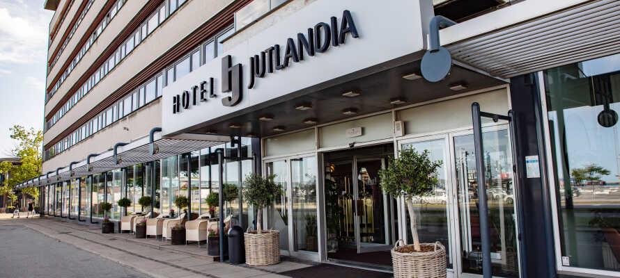 Gönnen Sie sich eine kurze Auszeit in einem komfortablen Hotel im Zentrum von Frederikshavn.