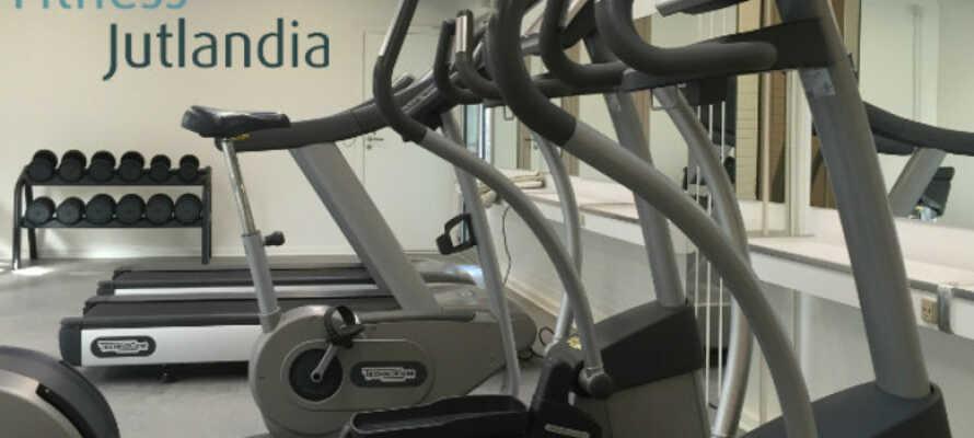 Die Gäste des Hotels haben freien Zugang zu Fitness JUTLANDIA.