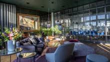 Det flotte 4-stjerners hotellet tilbyr en varm atmosfære.