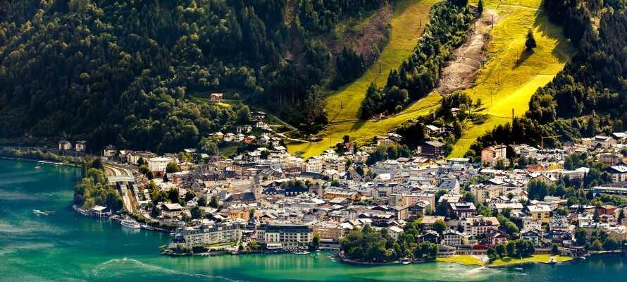 Strax norr om hotellet hittar ni  Zell am See som är ett naturskönt område och en populär semesterdestination.