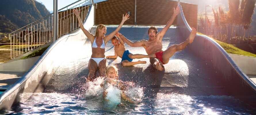 Das Tauern Spa Zell am See in Kaprun ist eines der modernsten Wellnesscenter in den Alpen.