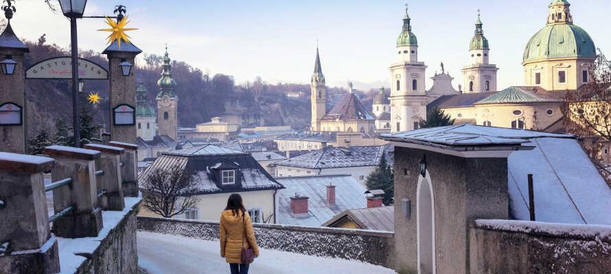 Åk på bilutflykt till den spännande storstaden Salzburg som erbjuder massor av sevärdheter och upplevelser.