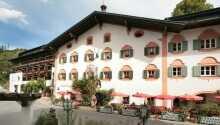 Hotel-Gasthof Lukashansl har ett idyllisk läge vid Nationalpark Hohe Tauern.