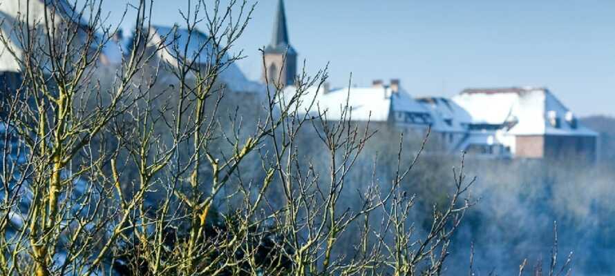 Auch im Winter ist das Elsass bekannt für seine wunderschöne Landschaft.