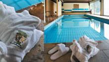 Ni har tillgång till hotellets wellness-avdelning och pool, utan extra kostnad.