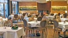 Hyggelige omgivelser på Hotel Au Lion d'Or.