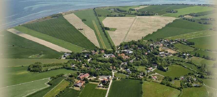 Femø er en liten perle nord for Lolland, hvor kos og ro står i fokus.