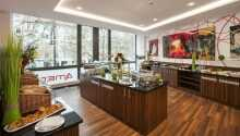 Das Restaurant schafft ein gemütliches Ambiente für Ihre Mahlzeiten während Ihres Aufenthalts in Berlin.