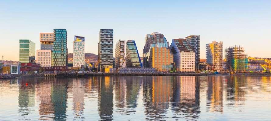 Norges hovedstad byder på et pulserer byliv og mange spændende attraktioner