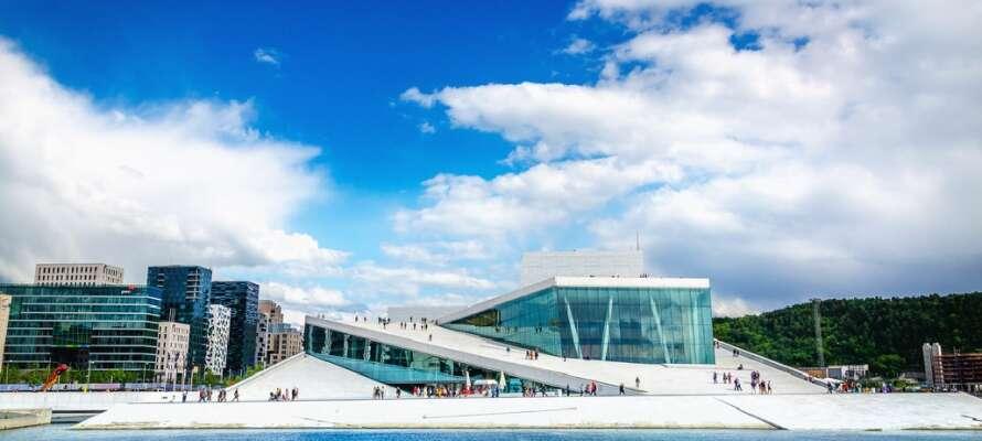 Operahuset byder på spændende kulturoplevelser og en smuk arkitektur