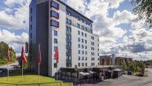 Hotellets placering i Oslo er rigtig god og tæt på de mange seværdigheder.