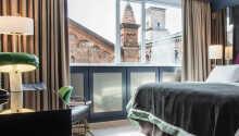 Der er skruet helt op for komfortniveauet på hotellets lækre værelser.
