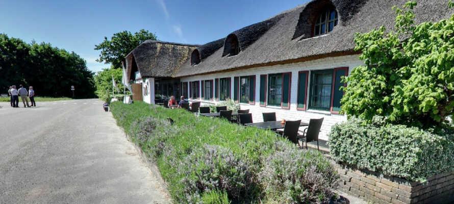 St. Binderup Kro byder på trestjernet hygge i landlige omgivelser tæt på den dejlige natur.