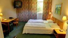 Hotellets værelser tilbyder en hyggelig base for Jeres ophold