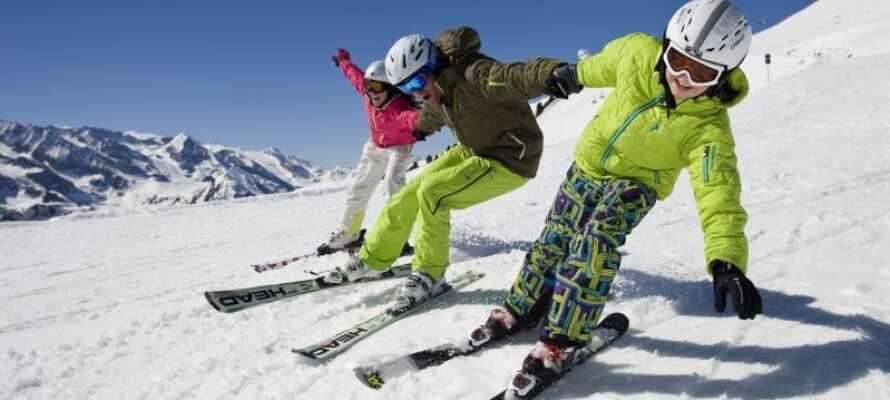 Zillertal byder på masser af sjove skioplevelser for både store og små!